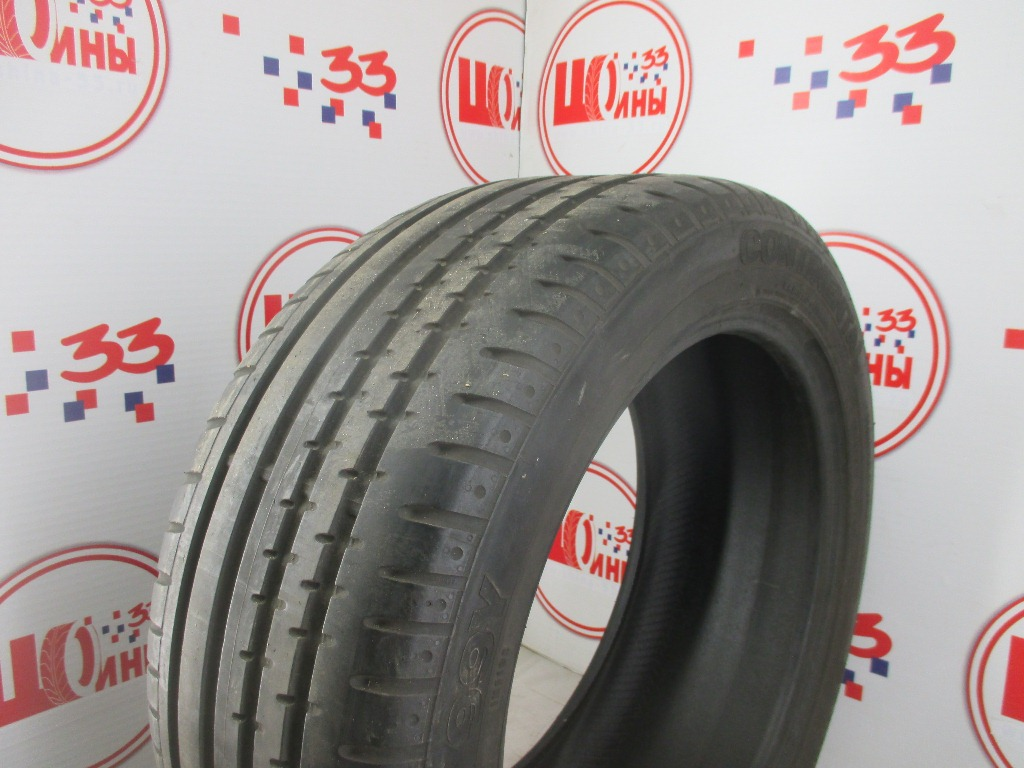 Б/У 255/45 R18 Лето CONTINENTAL Sport Contact-2 Кат. 3