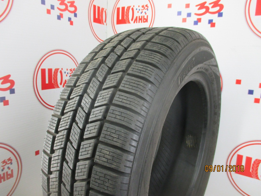 Б/У 235/60 R17 Зима PIRELLI Scorpion Ice & Snow Кат. 4