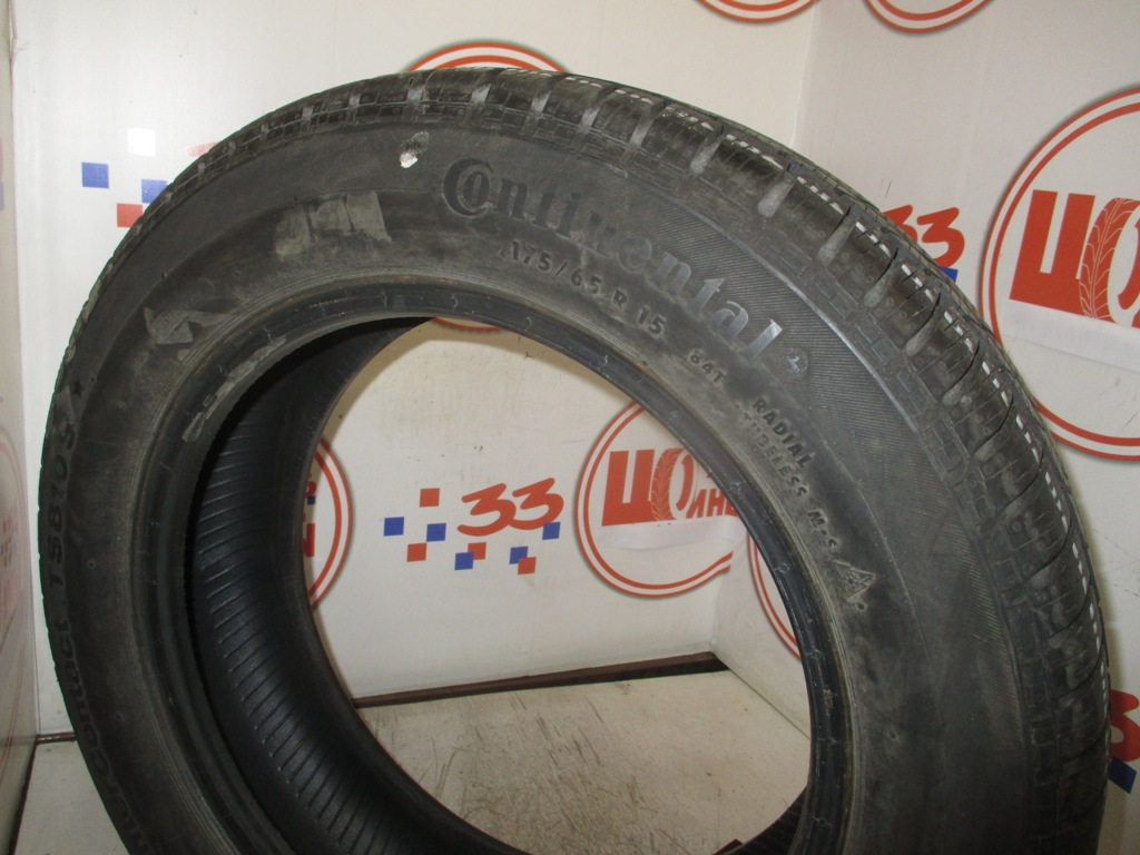 Б/У 175/65 R15 Зима CONTINENTAL C.Winter Contact TS-810S Кат. 2