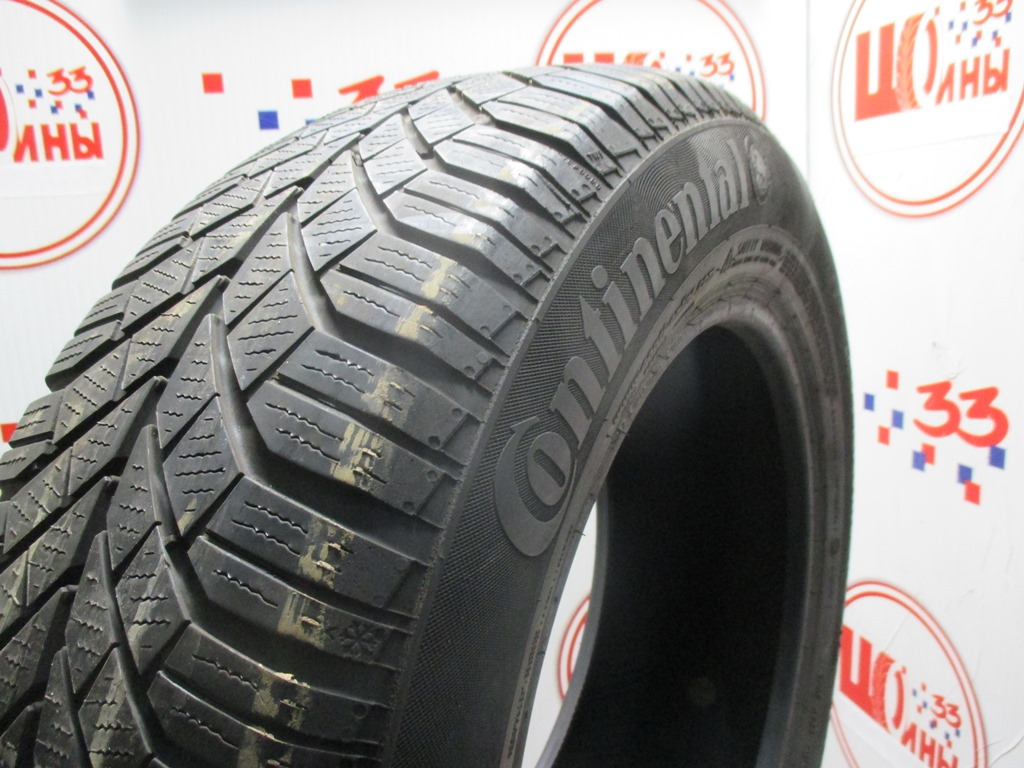 Б/У 195/65 R15 Зима CONTINENTAL C.Winter Contact TS-830 Кат. 4