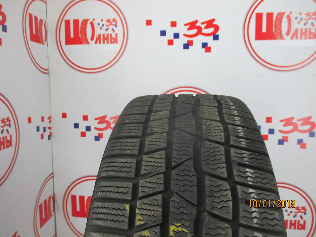 Б/У 225/40 R18 Зима CONTINENTAL C.Winter Contact TS-830Р Кат. 3