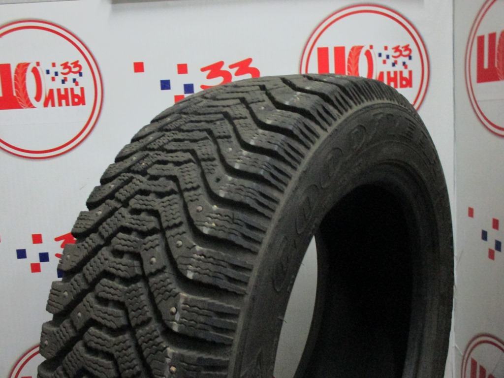Б/У 225/55 R16 Зима Шипы  GOODYEAR Ultra Grip-500 Кат. 3