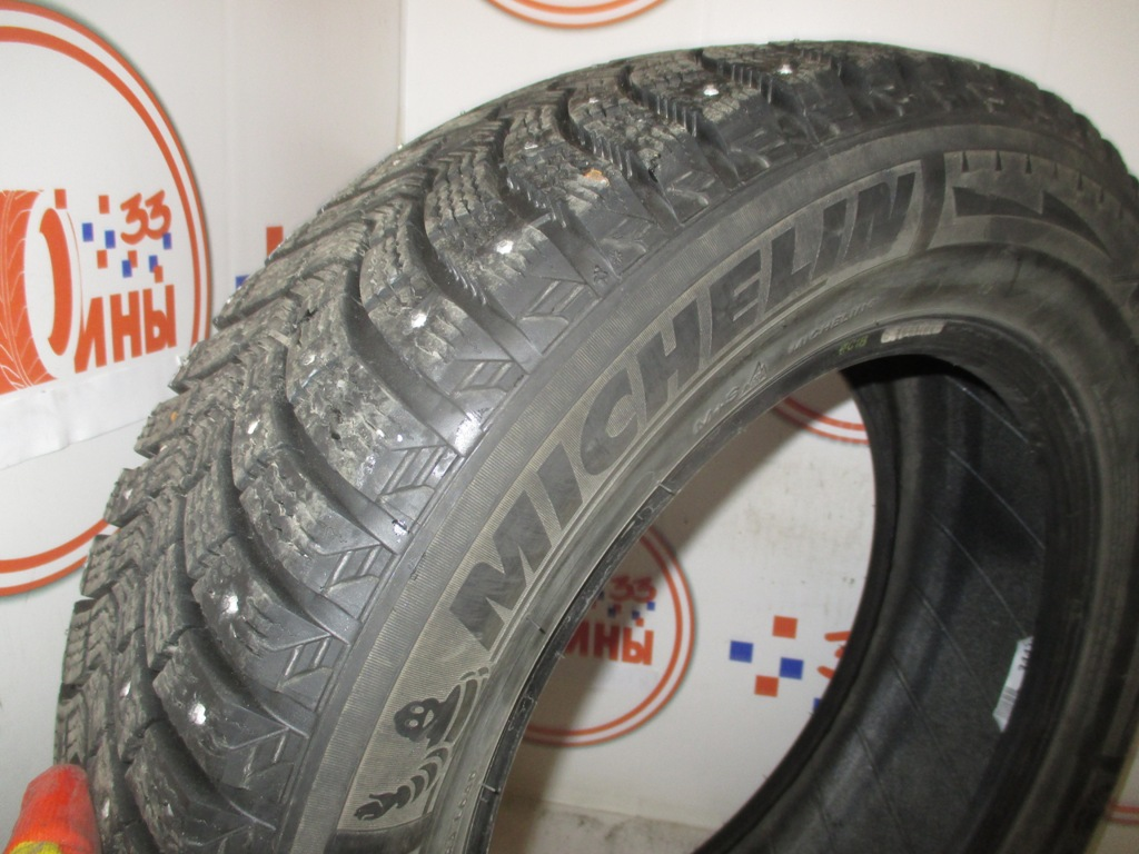 Б/У 215/60 R16 Зима Шипы  MICHELIN X-Ice North-2 Кат. 2