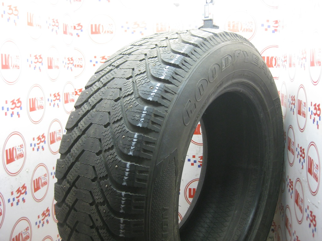 Б/У 265/60 R18 Зима Шипы  GOODYEAR Ultra Grip-500 Кат. 4