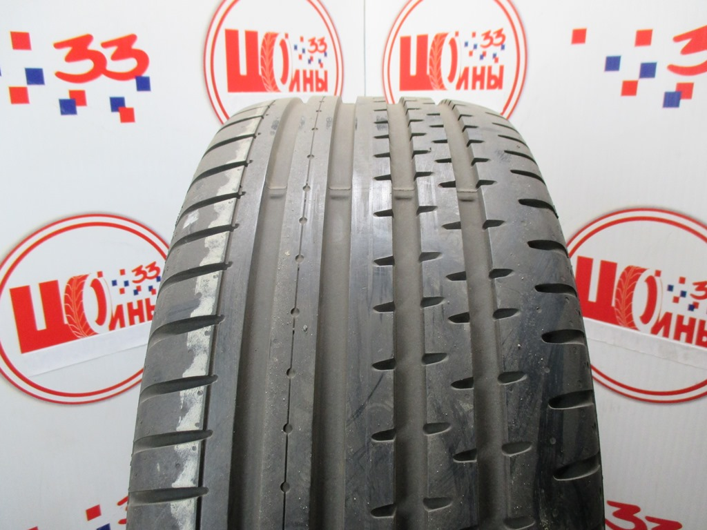 Б/У 255/45 R18 Лето CONTINENTAL Sport Contact-2 Кат. 2