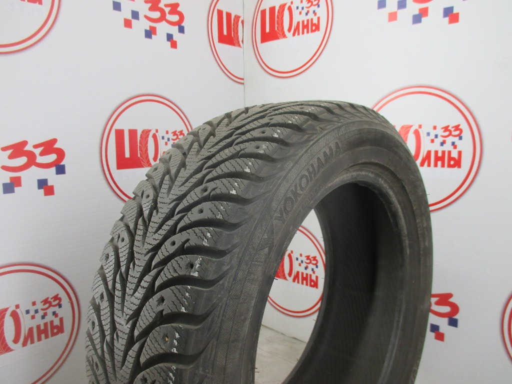 Б/У 195/55 R15 Зима Шипы  YOKOHAMA Ice Guard IG-35 Кат. 3