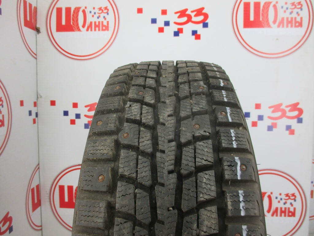 Б/У 205/65 R15 Зима Шипы  DUNLOP SP Winter Ice-01 Кат. 2