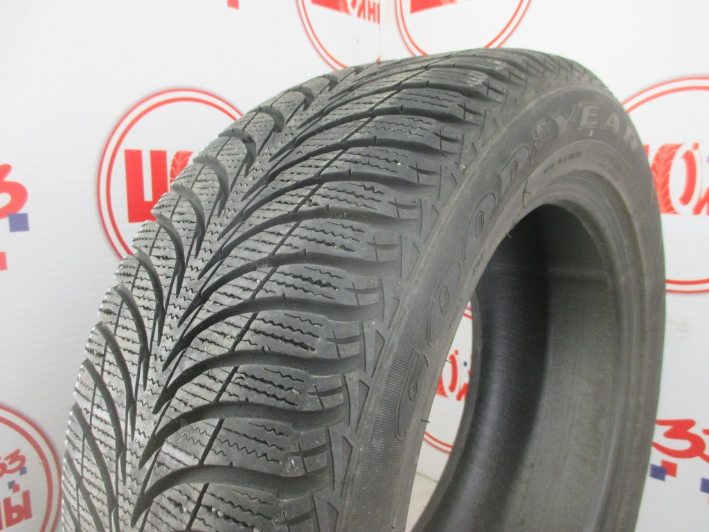 Б/У 215/55 R16 Зима GOODYEAR Ultra Grip Ice + Кат. 2