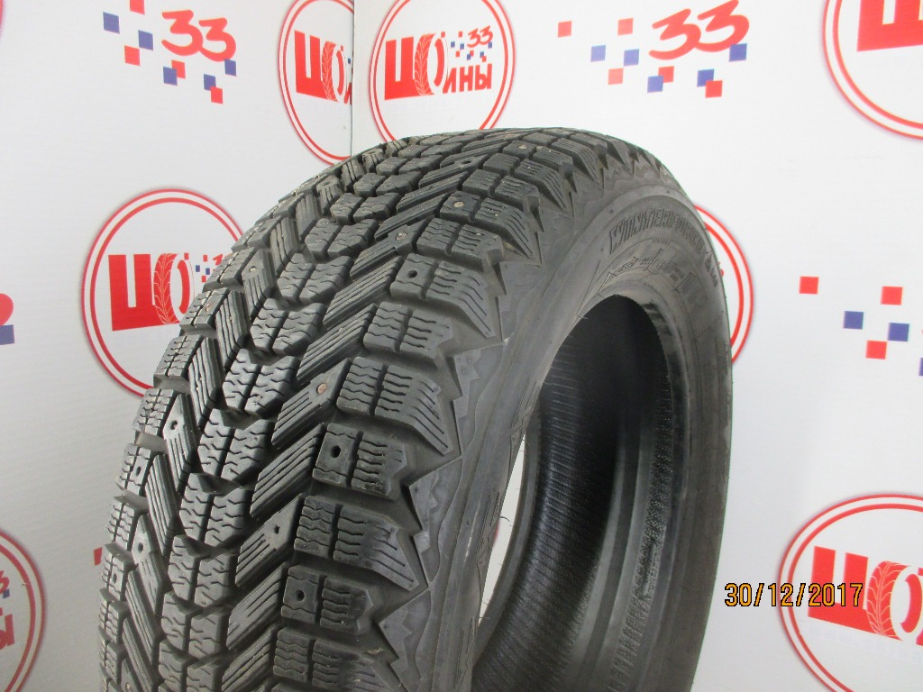Б/У 235/55 R17 Зима Шипы  FIRESTONE Winterforce Кат. 3