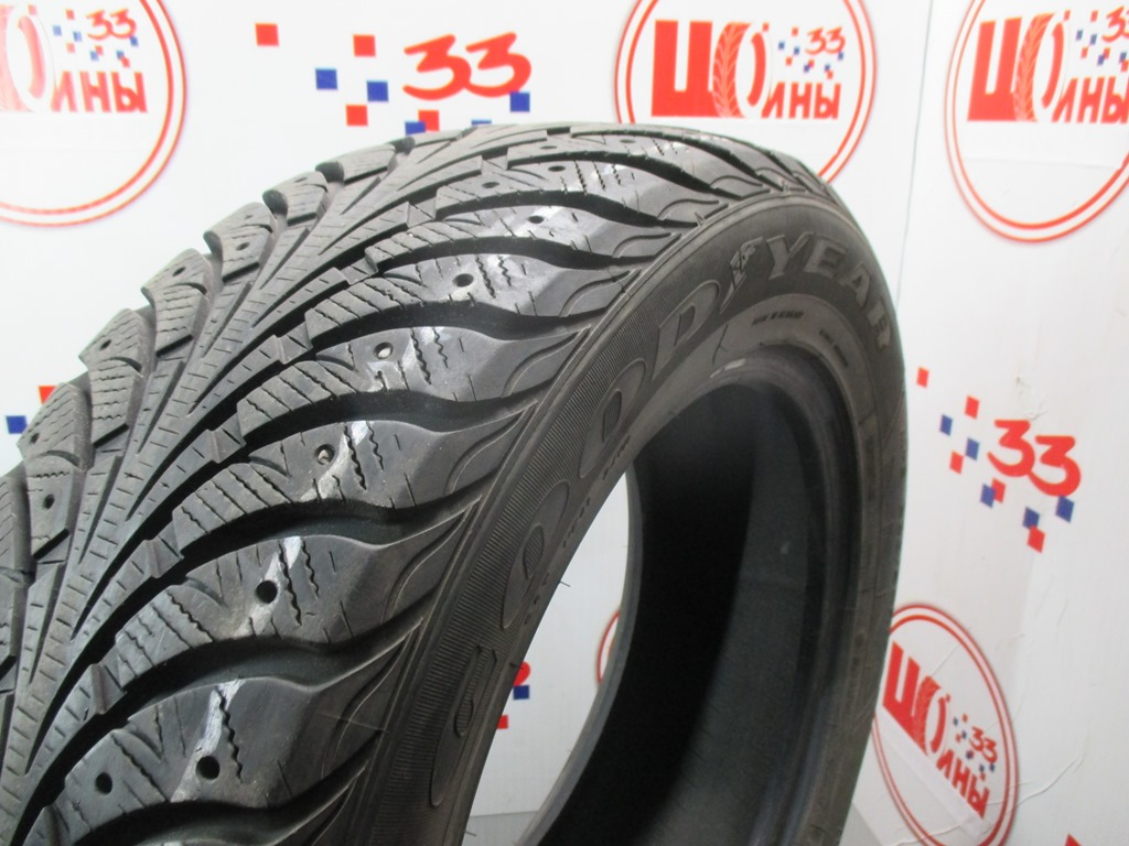 Б/У 225/60 R17 Зима Шипы  GOODYEAR Ultra Grip Extreme  Кат. 4