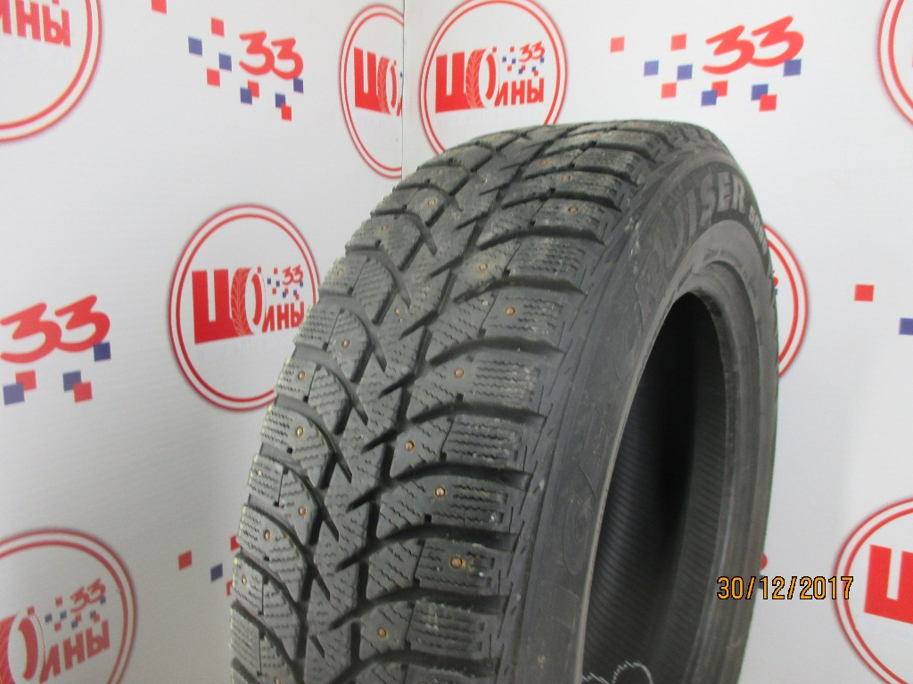 Б/У 225/65 R17 Зима Шипы  BRIDGESTONE IC-5000 Кат. 5