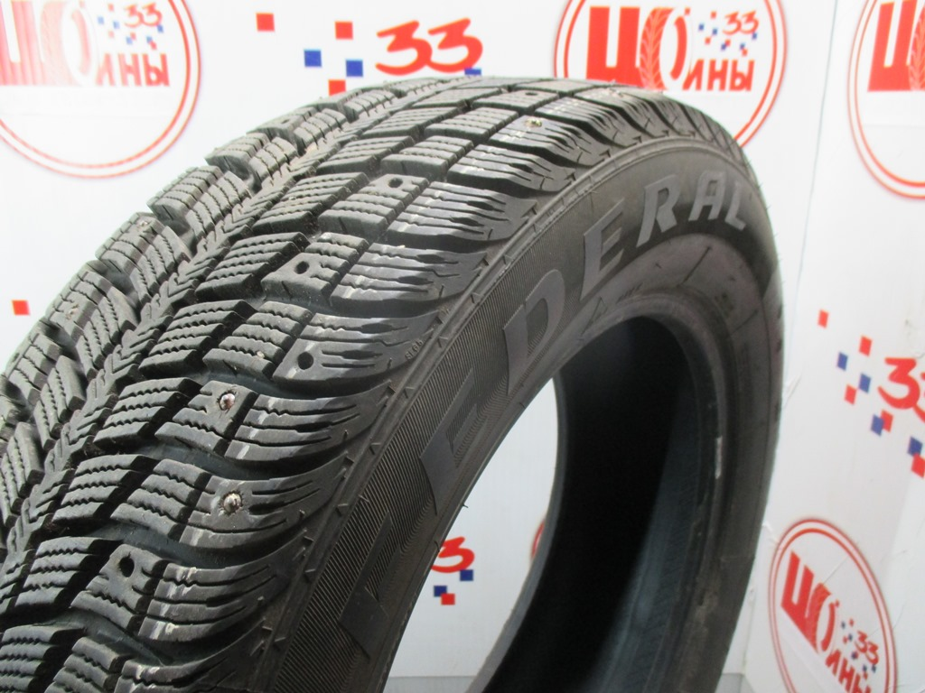 Б/У 225/60 R17 Зима Шипы  Federal Hymalaya WS2 Кат. 2
