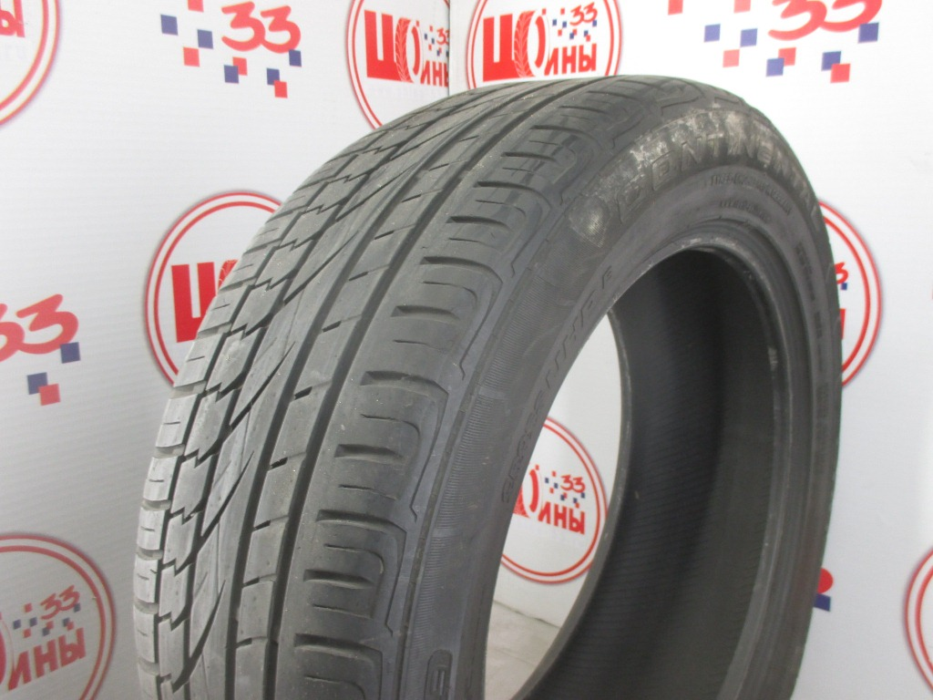 Б/У 235/55 R19 Лето CONTINENTAL C.Cross Contact UHP Кат. 5
