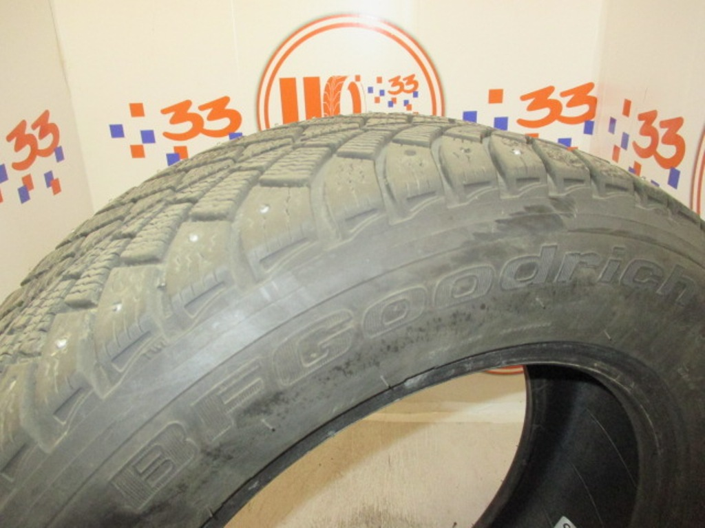 Б/У 195/65 R15 Зима Шипы  BFGoodrich G-Force Stud Кат. 4