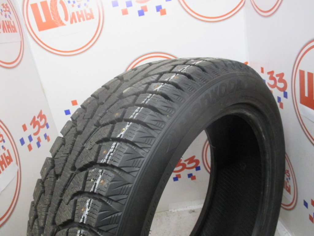 Б/У 215/55 R18 Зима HANKOOK Winter I*Pike RW-11 Кат. 1