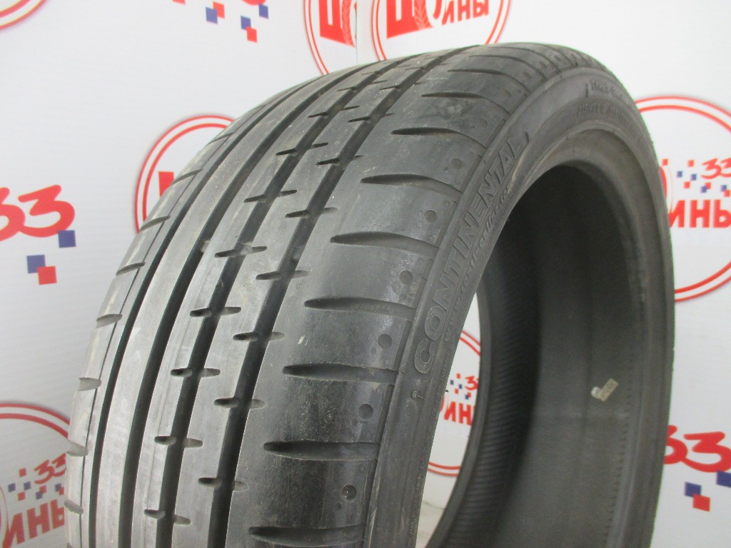 Б/У 225/40 R18 Лето CONTINENTAL Sport Contact-2 Кат. 3