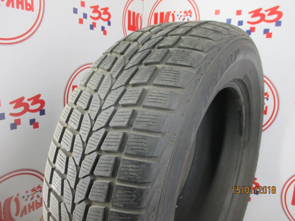 Б/У 265/60 R18 Зима DUNLOP SP Winter Sport 400 Кат. 4
