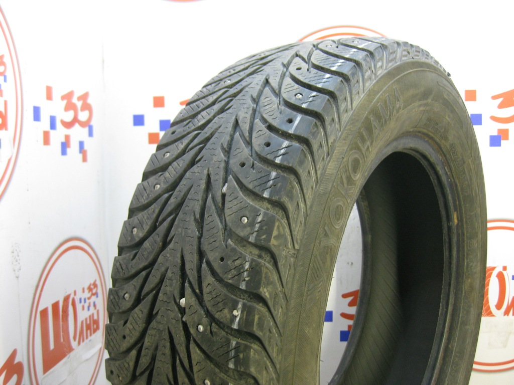 Б/У 185/65 R14 Зима Шипы  YOKOHAMA Ice Guard IG-35 Кат. 4