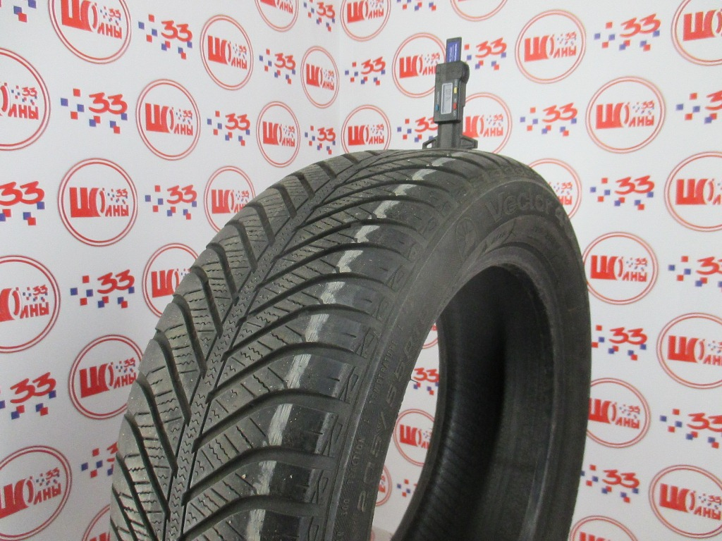 Б/У 205/55 R16 Зима GOODYEAR Vector 4 Seasons Кат. 4
