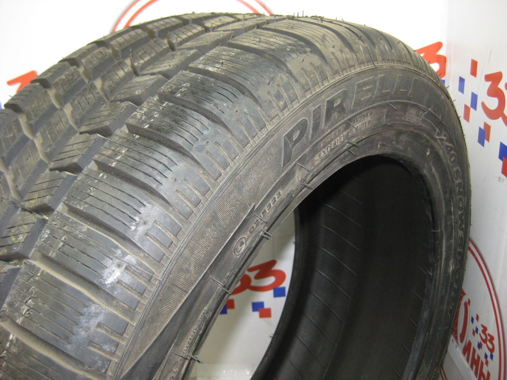 Б/У 235/45 R17 Зима PIRELLI Winter-210 Snowsport Кат. 1