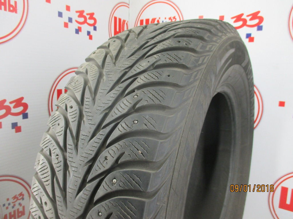 Б/У 265/65 R17 Зима Шипы  YOKOHAMA Ice Guard IG-35 Кат. 5