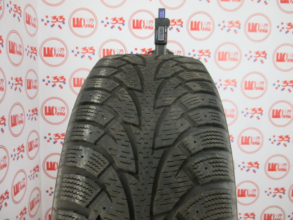 Б/У 225/55 R16 Зима HANKOOK Winter I*Pike W-409 Кат. 3