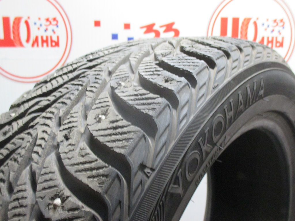 Б/У 215/55 R18 Зима Шипы  YOKOHAMA Ice Guard IG-35 Кат. 4