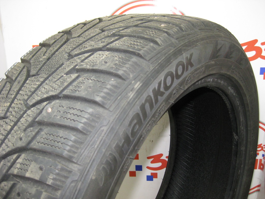 Б/У 215/50 R17 Зима Шипы  HANKOOK Winter I*Pike RS W-419 Кат. 3