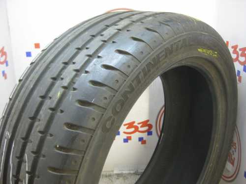 Б/У 245/45 R18 Лето CONTINENTAL Sport Contact-2 Кат. 2