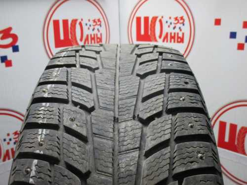 Б/У 235/55 R17 Зима Шипы  MICHELIN X-Ice North Кат. 4