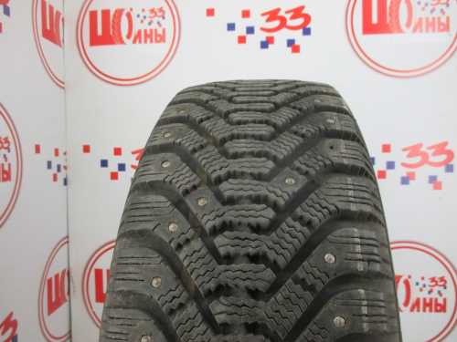 Б/У 195/60 R15 Зима Шипы  GOODYEAR Ultra Grip-500 Кат. 5