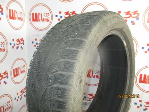 Б/У 245/45 R19 Зима Шипы  PIRELLI Winter Carving/Carving Edge RSC Кат. 4