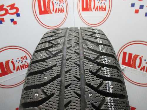Б/У 215/55 R17 Зима Шипы  BRIDGESTONE IC-7000 Кат. 2