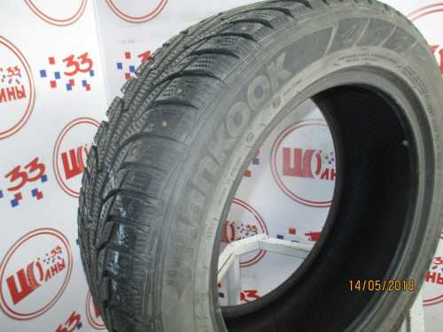 Б/У 205/55 R16 Зима Шипы  HANKOOK Winter I*Pike RS W-419 Кат. 5