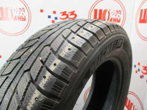 Б/У 225/65 R17 Зима Шипы  MICHELIN Latitude X-ICE Кат. 5