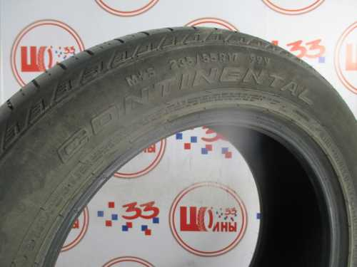 Шина 235/55/R17 CONTINENTAL C.Cross Contact LX износ не более 25%