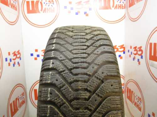 Б/У 225/55 R17 Зима Шипы  GOODYEAR Ultra Grip-500 Кат. 3