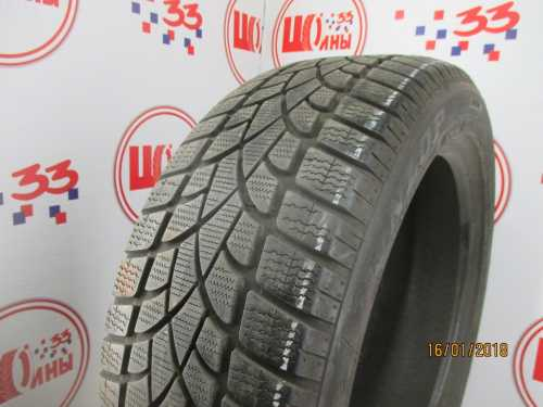 Б/У 235/50 R19 Зима DUNLOP SP Winter Sport 3-D RSC Кат. 4