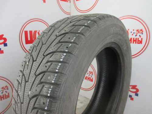 Б/У 195/65 R15 Зима Шипы  HANKOOK Winter I*Pike RS W-419 Кат. 5