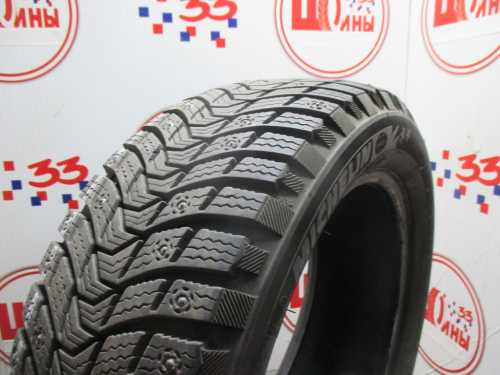 Б/У 185/55 R15 Зима Шипы  MICHELIN X-Ice North-3 Кат. 2