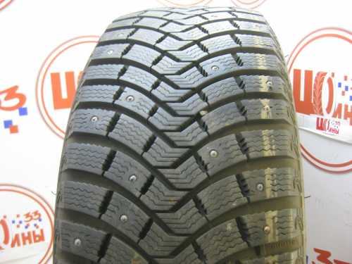 Б/У 225/55 R18 Зима Шипы  MICHELIN Latitude X-Ice North-2 Кат. 1