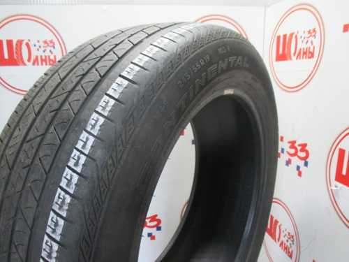 Шина 245/55/R19 CONTINENTAL C.Cross Contact LX Sport износ более 50%