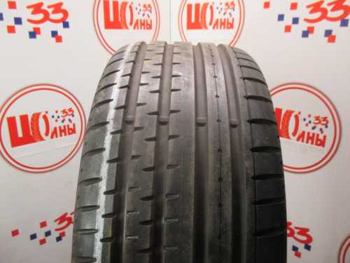 Б/У 255/40 R18 Лето CONTINENTAL Sport Contact-2 Кат. 1