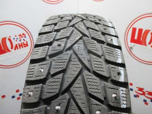 Б/У 185/60 R15 Зима Шипы  DUNLOP SP Winter Ice-02 Кат. 4