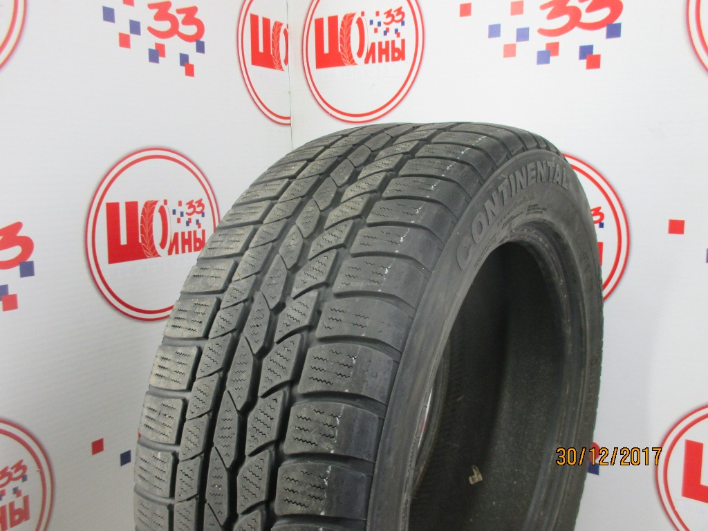 Б/У 235/55 R17 Зима CONTINENTAL 4*4 Winter Contact Кат. 5