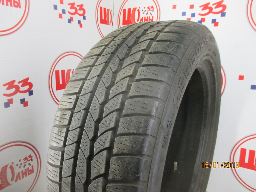 Б/У 255/50 R19 Зима CONTINENTAL 4*4 Winter Contact Кат. 4