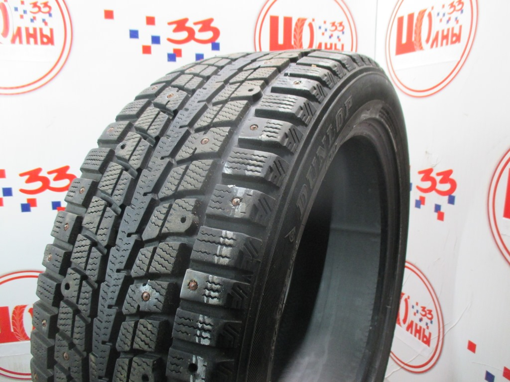 Б/У 215/50 R17 Зима Шипы  DUNLOP SP Winter Ice-01 Кат. 3
