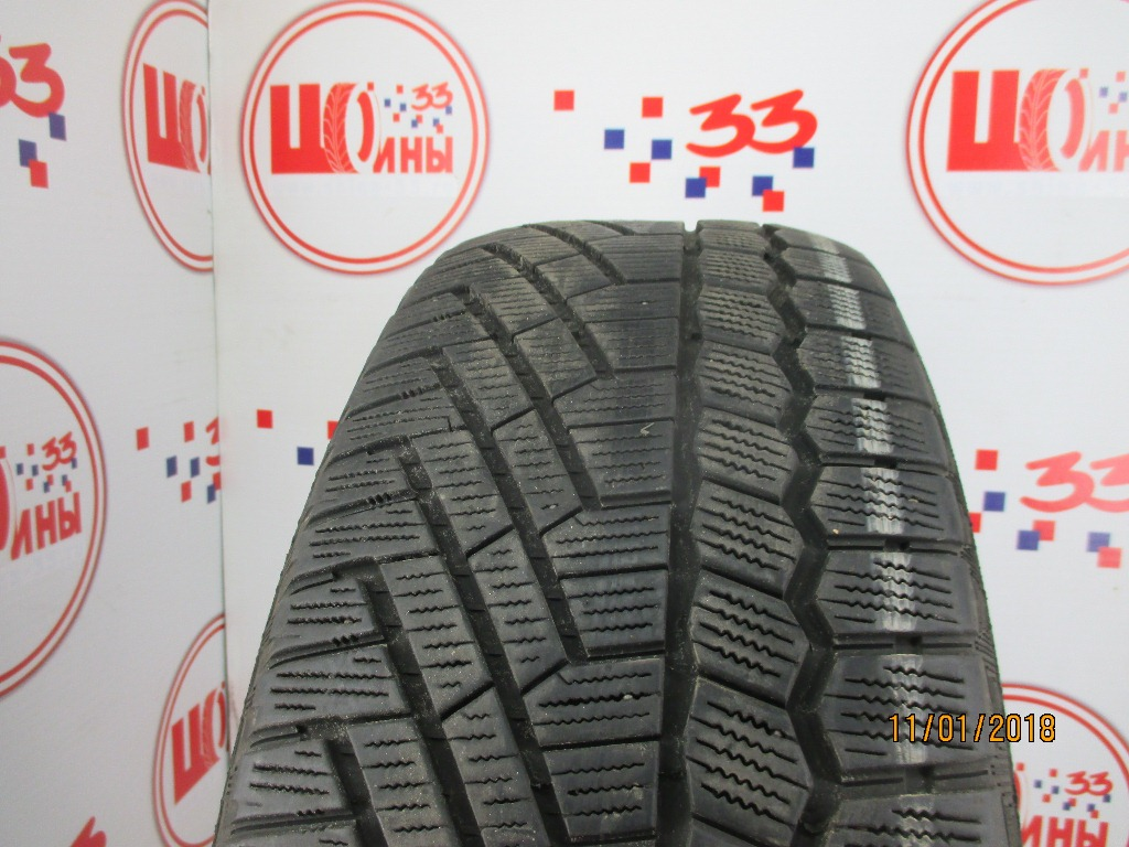Б/У 235/60 R18 Зима CONTINENTAL C.Cross Contact Viking Кат. 5