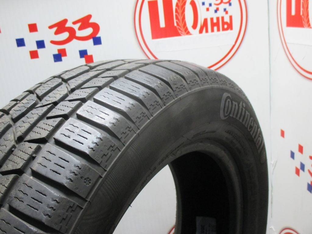 Б/У 205/60 R16 Зима CONTINENTAL C.Winter Contact TS-830 Р Кат. 4