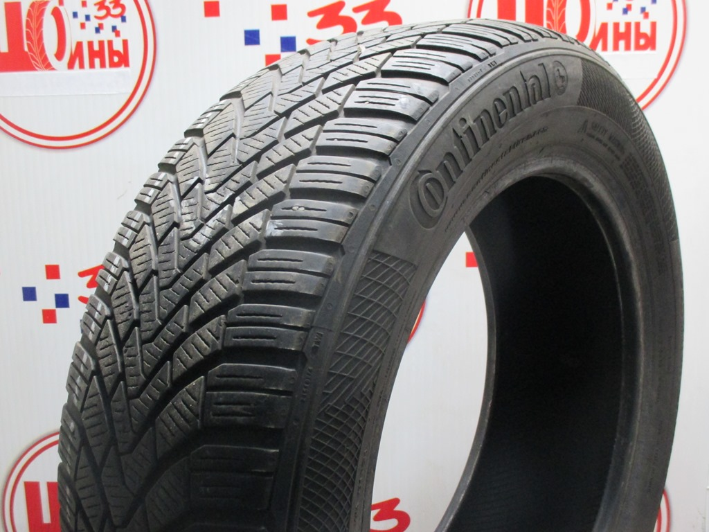 Б/У 205/55 R16 Зима CONTINENTAL C.Winter Contact TS-850 Кат. 4